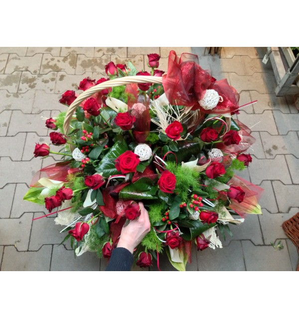 Kosz kwiatowy 2