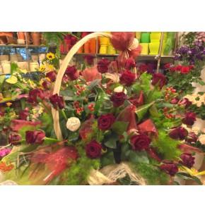 Kosze kwiatowy 1